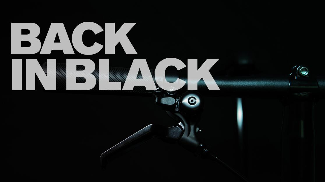 Black Edition 2019 Brompton bicycle folding bike